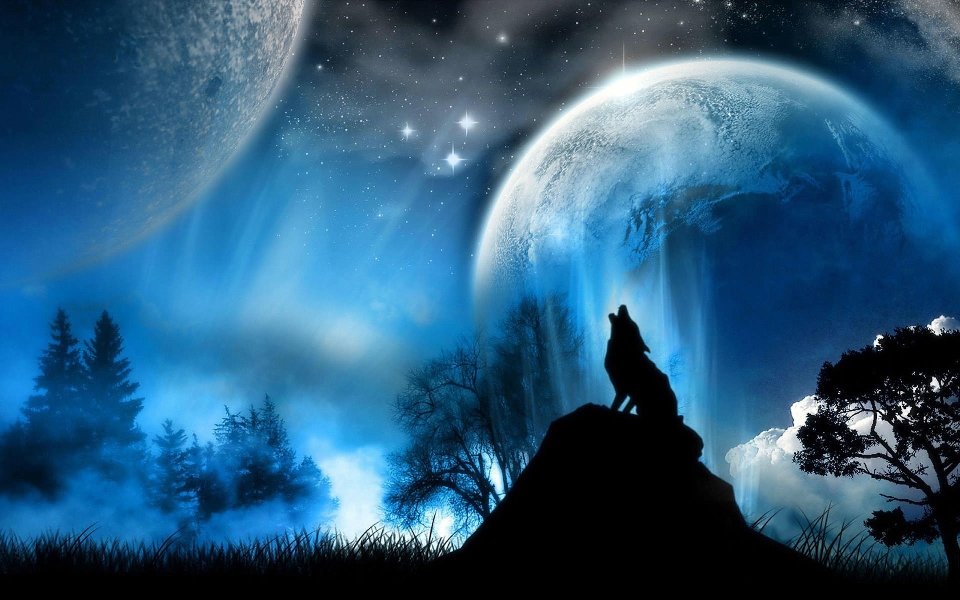 Best Wall Papers 20 best moon desktop wallpapers|freecreatives