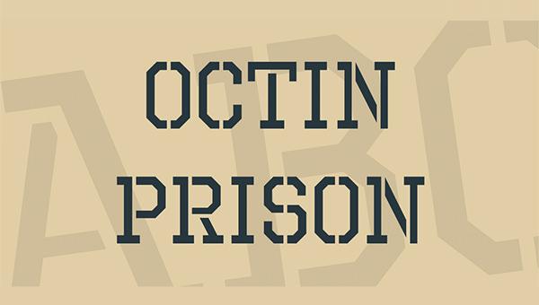 octin-prison-free-font-1-big