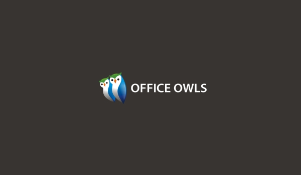 ofiice owl logo design