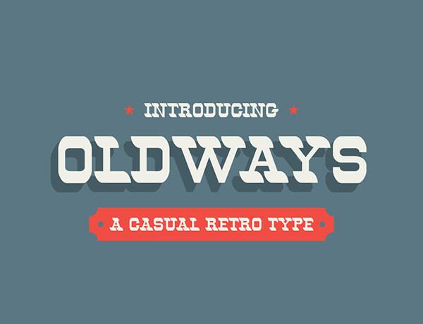 oldways-retro-font