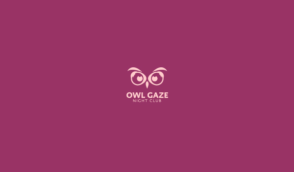 owl gaze logo design