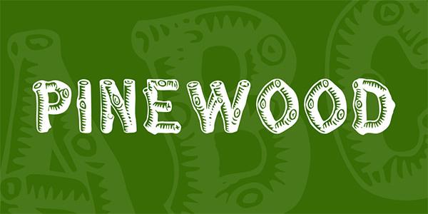 pinewood-font-