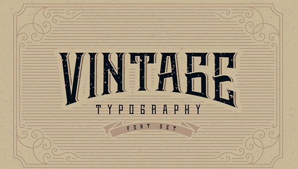 20+ Free Vintage Fonts - OTF, TTF Download