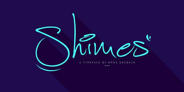 shimes font