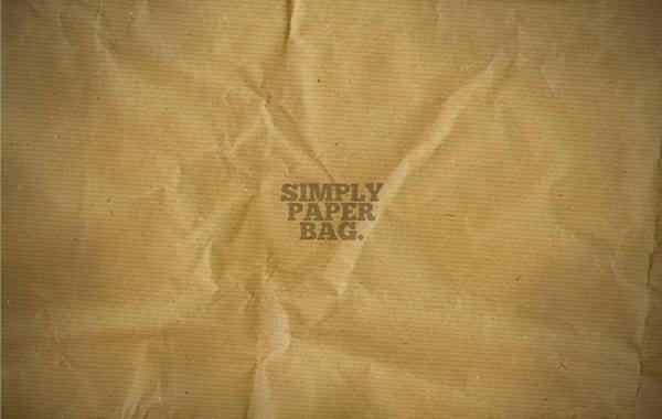 simple paper bag texture