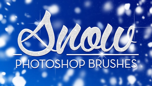 snow photoshop brushes1