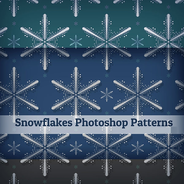snowflake-photoshop patterns