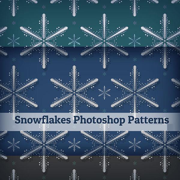 snowflake-photoshop patterns