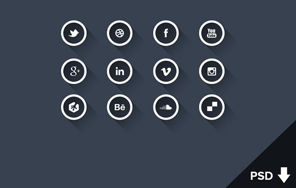 social-long-shadow-icons-white-version