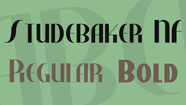 studebaker-font