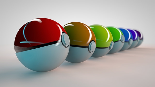 stunning pokeball background wallpaper