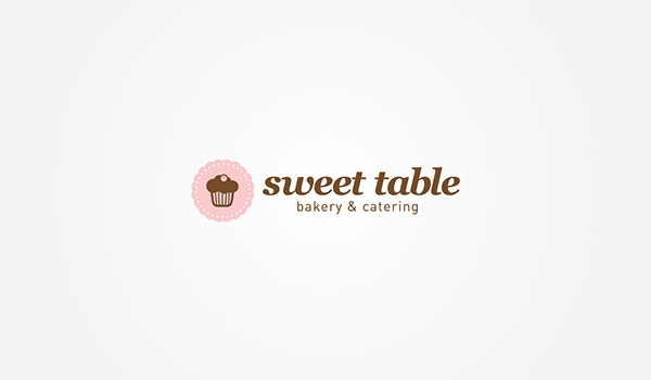 sweet table bakery logo