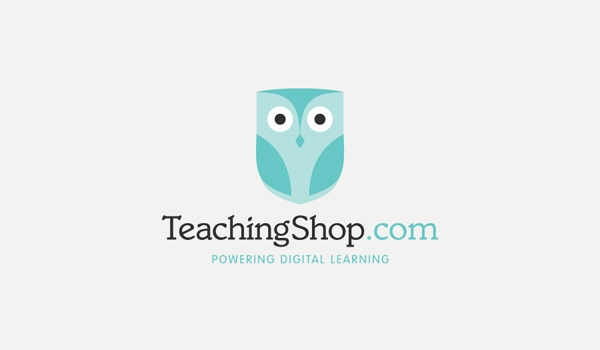 teaching shop logo design