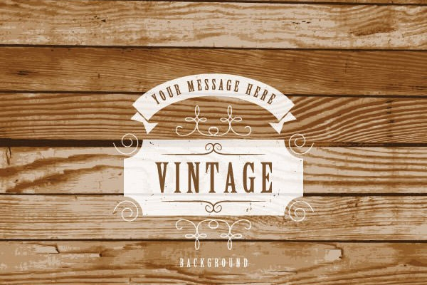 vintage_label_on_wooden_background