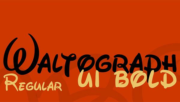 waltograph-font