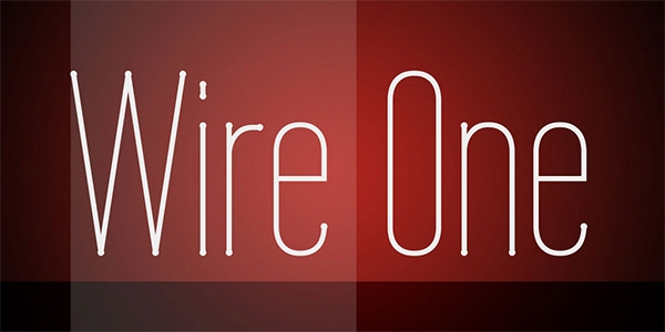 wire-one-font