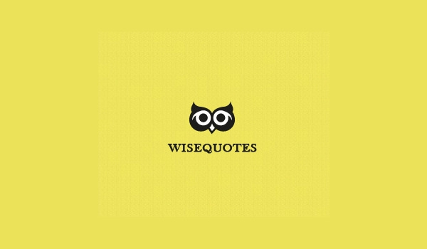 wise quotes log design