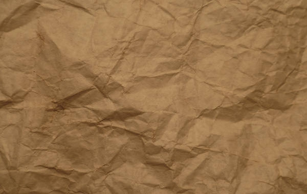 wrinkled paper bag texture