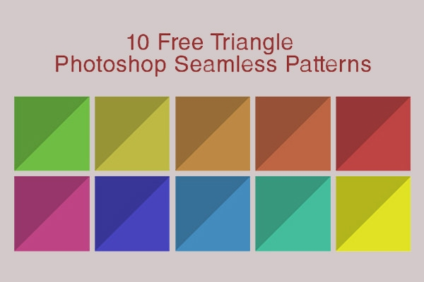 10-Free-Triangle-Photoshop-Seamless-Patterns-Backgrounds