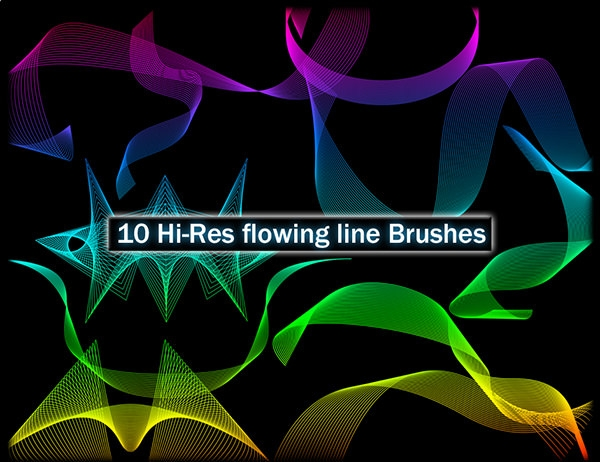 10-hi_res_flowing_line_brushes