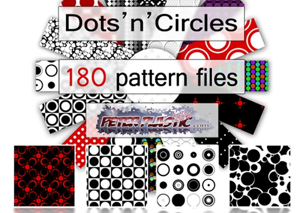 180 Dot 'n' Circles Patterns