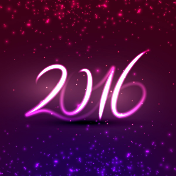2016 Happy New Year Background