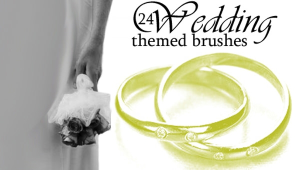 24 wedding-theme-brushes