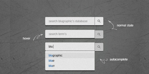 3 state search field psd