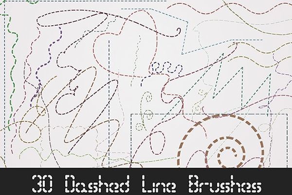 30-dashed_line_brushes