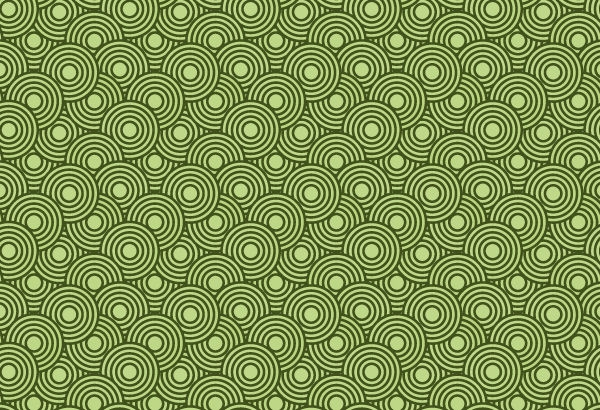 5 Crazy Circles Free Seamless Vector Patterns