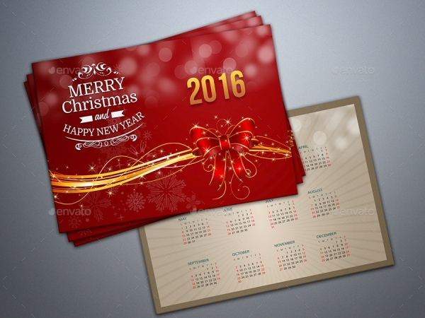 Awesome New Year Greeting Card Design
