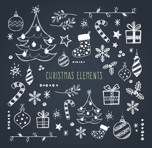 Beautiful Christmas Elements
