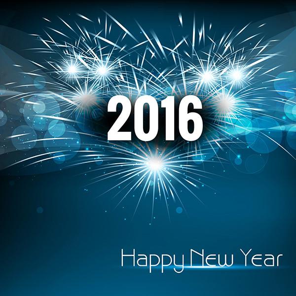 beautiful new year background