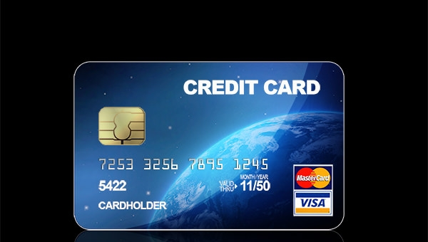 Blue-Credit-Card