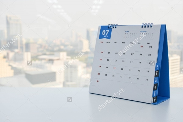 Calendar Mockup illustration