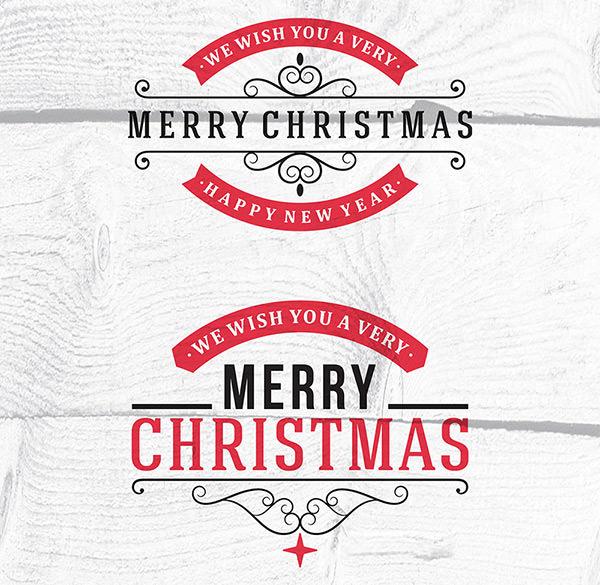 Christmas-Calligraphic-and-Typographic-Design-Elements-Vectors