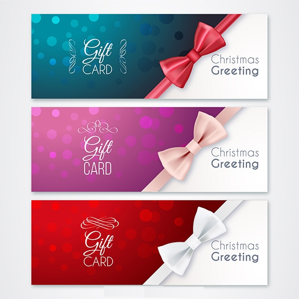 Christmas and New Year Greeting Card Banner