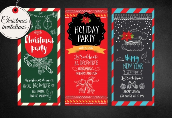 Christmas invitations Flyers
