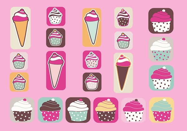 Cupcakes_and_Ice_Cream_Brush_Pack
