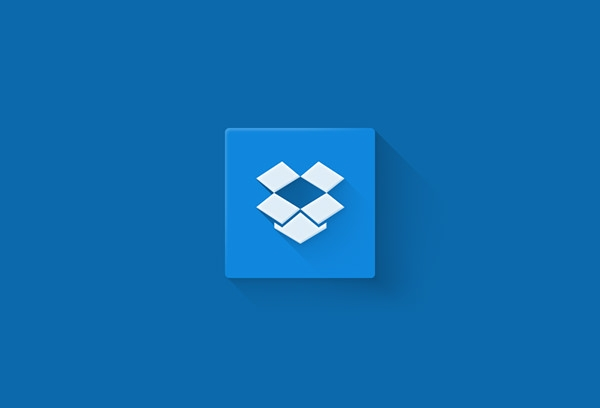 Dropbox Flat Logo Design
