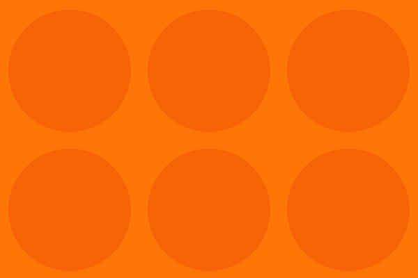 Free Photoshop Orange Constant Circle Pattern