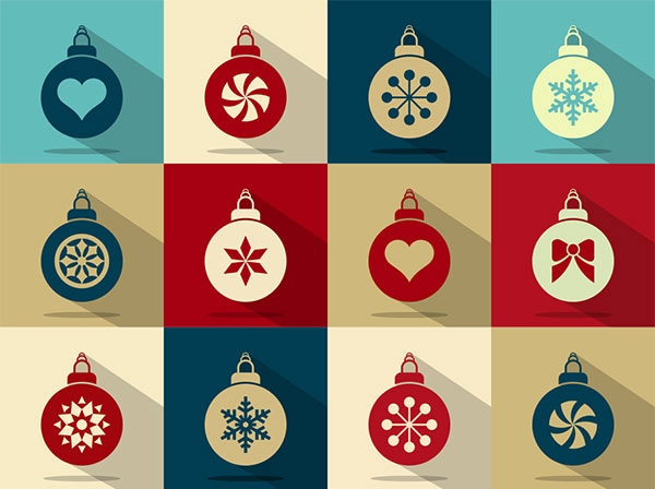 Free-Vector-Christmas-Baubles-Icons