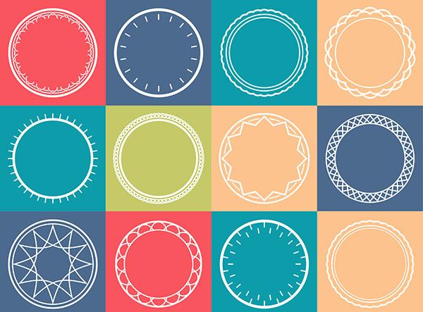 Free Vector Circles Pattern