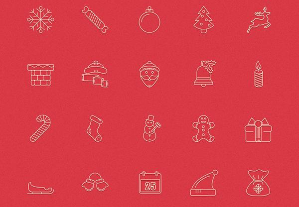 Free-festive Christmas-Icons