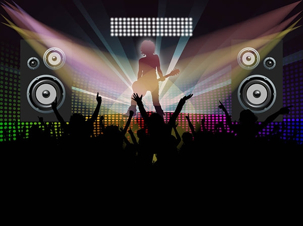 FreeVector-Dance-Party- design