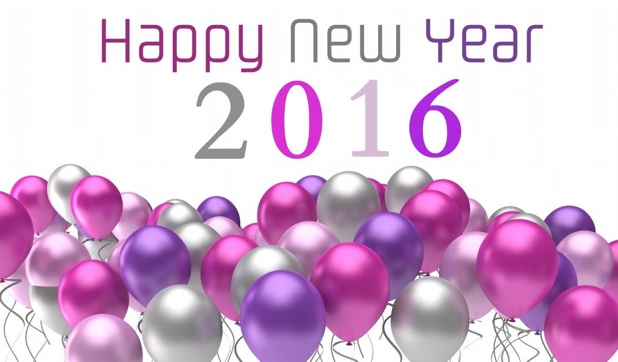 Happy-New-Year-2016-flying-colorful-balloons wallpaper