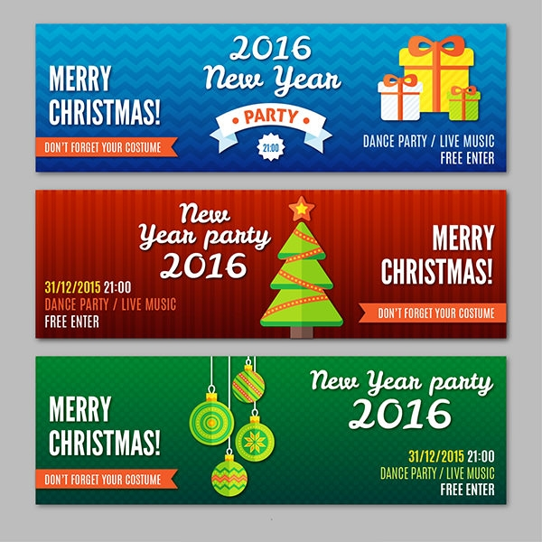 Merry-Christmas-and-Happy-New-Year-Party-banners