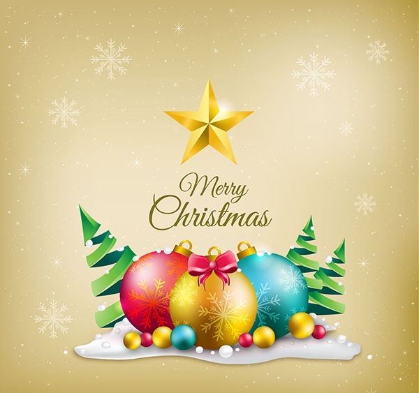 Merry-christmas-decoration-background