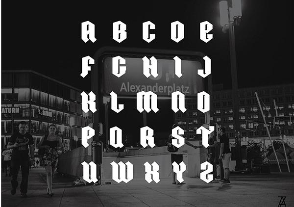 Ordnung-font