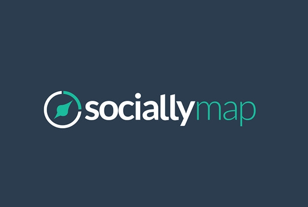 socially map logo